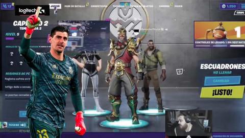 Los eSports en tiempos de coronavirus: el salvavidas anticuarentena de futbolistas como Courtois