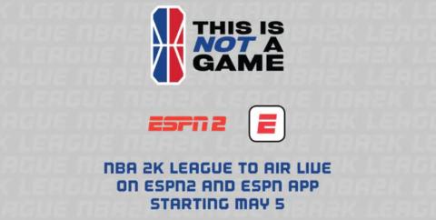 La NBA 2K League firma un acuerdo multifacético de derechos con ESPN